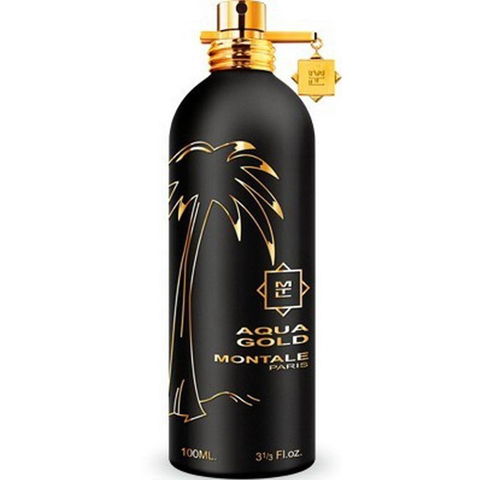Montale: Aqua Gold унисекс туалетные духи edp, 50мл/100мл