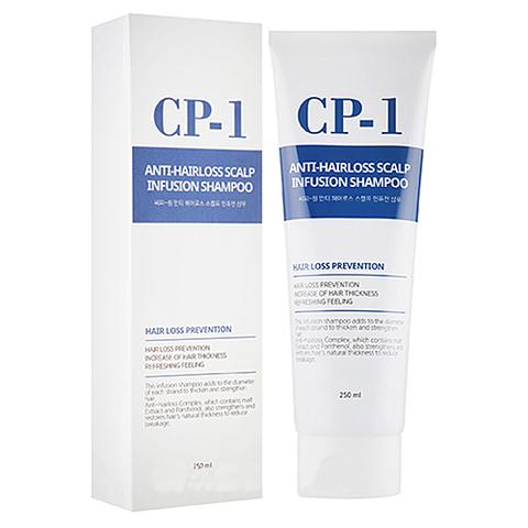 Шампунь для волос ПРОТИВ ВЫПАДЕНИЯ CP-1 Anti-hair loss scalp infusion shampoo, 250 мл, ESTHETIC HOUSE