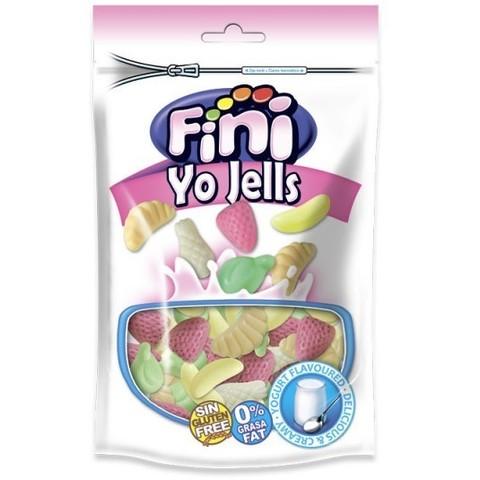 Жевательный мармелад Fini Yo Jellies йогуртовые фрукты 180 гр