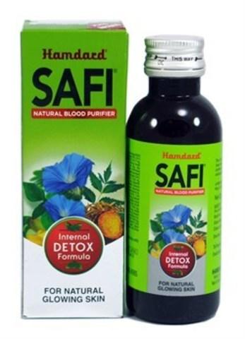 Сироп для очищения крови SAFI, 200 мл Hamdard (Индия)