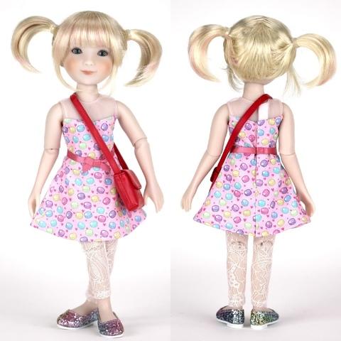 Кукла Келли, 31 см, Руби Ред (Ruby Red) Siblies, Новинка 2021!
