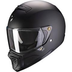 Мотошлем Scorpion EXO HX1 Solid, чёрный матовый