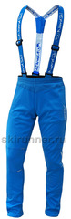 Детские лыжные разминочные брюки NordSki Premium Blue
