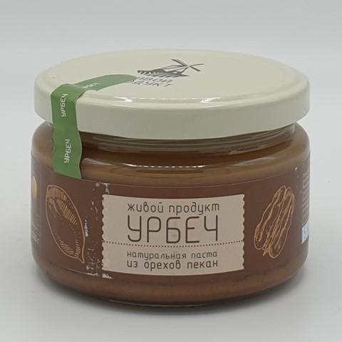 Урбеч из ядер ореха пекан ЖИВОЙ ПРОДУКТ, 225 гр
