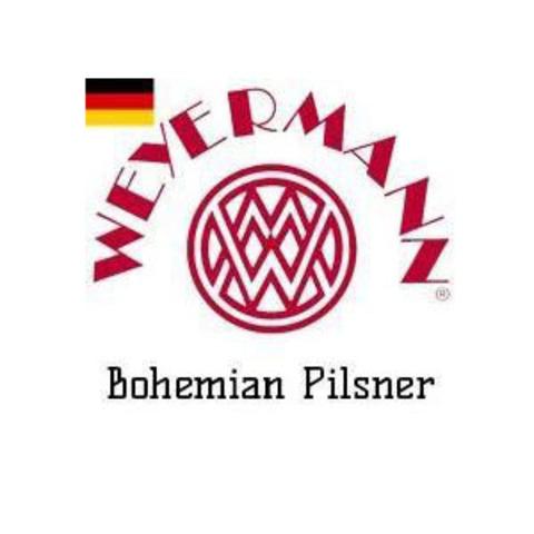 Солод пивоваренный светлый Bohemian Pilsner, EBC 3-5, 1кг