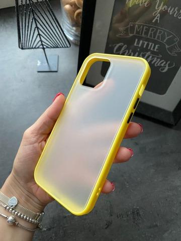 Чехол iPhone 12 /5,4''/ Gingle series /yellow black/