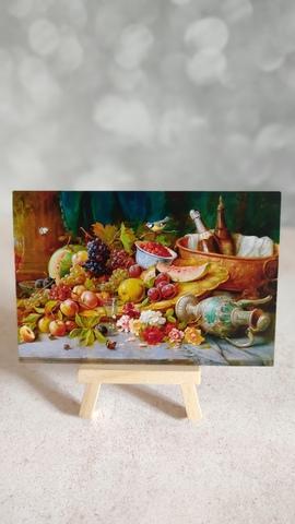 Большой натюрморт с фруктами