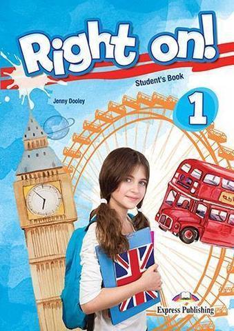 Right on! 1. Student's book (with digibooks app). Учебник (с ссылкой на электронное приложение)