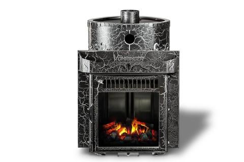 Дровяная банная печь Ферингер Классика Экран паровая с закрытой каменкой