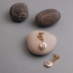 Earring (Серьги барочный жемчуг)