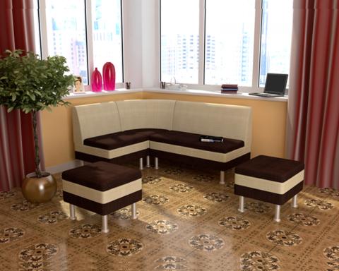 Набор мебели для кухни СЕКРЕТ-2 брауни / бежевый