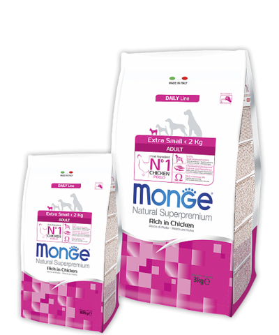 Monge Daily Line Extra Small Adult Dog