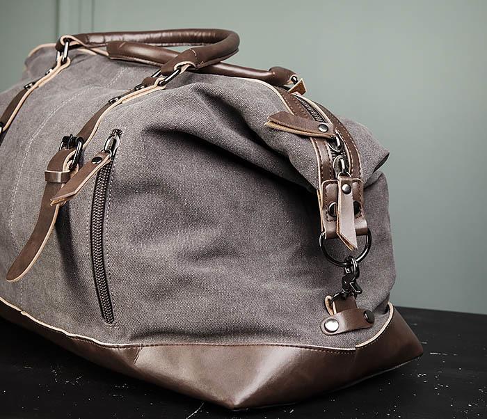 BAG478-3 Мужская сумка саквояж для поездок фото 05