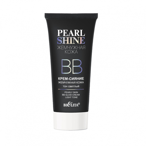 Белита Pearl Shine ВВкрем-сияние «Жемчужная кожа» тон светлый 30мл