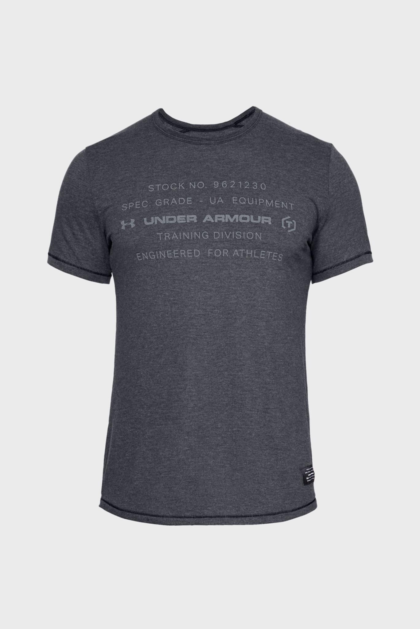 Мужская темно-серая футболка SPORTSTYLE TRIBLEND GRAPHIC Under Armour