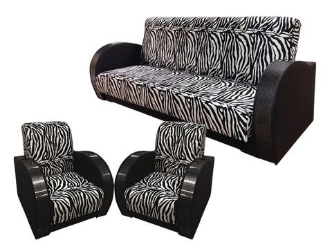 Диван + 2  кресла (комплект №2)