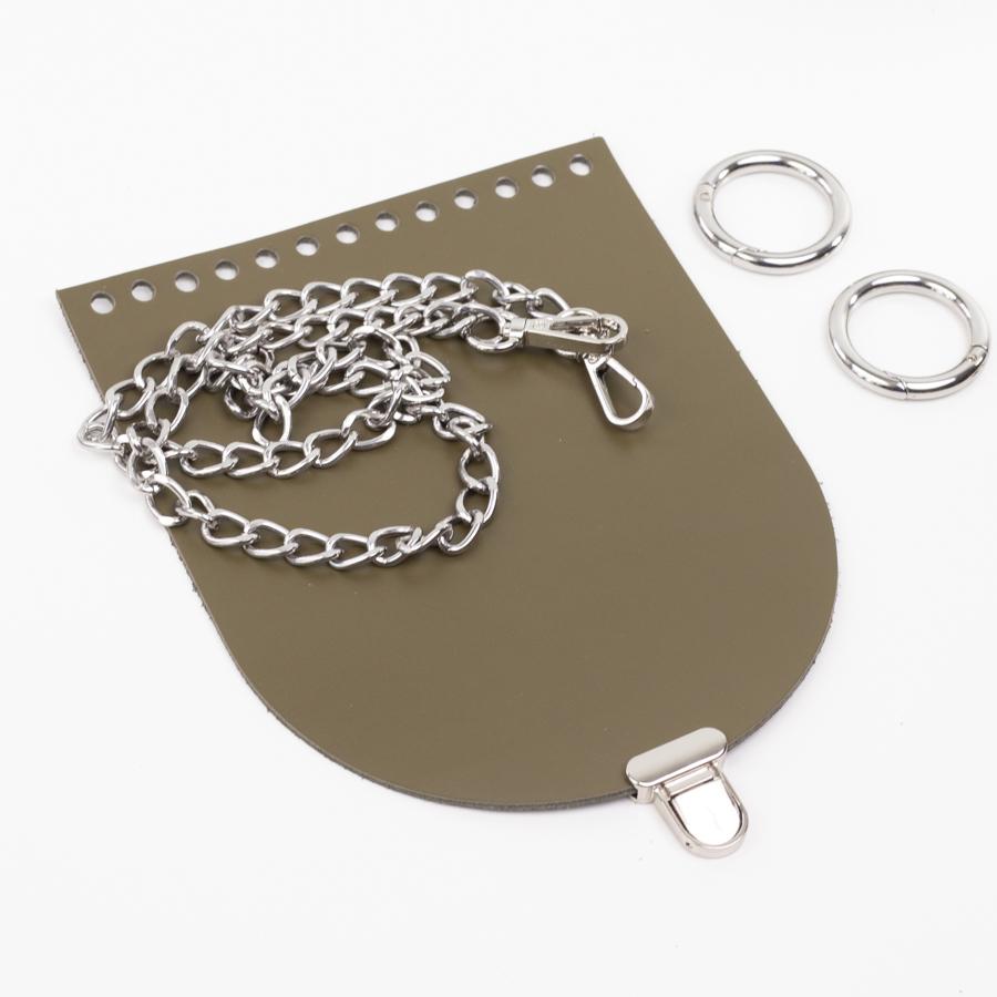 """Комплекты Комплект для сумочки Орео """"Хаки"""". Цепочка и замок """"Малыш"""" IMG_1078.jpg"""