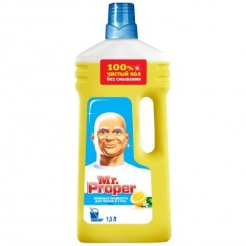 Моющее средство для пола Mr. Proper 1,5 л