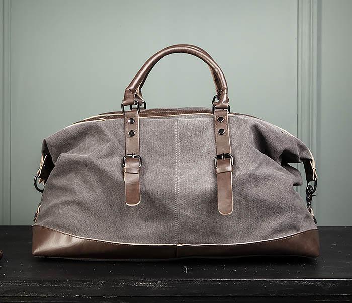 BAG478-3 Мужская сумка саквояж для поездок фото 06