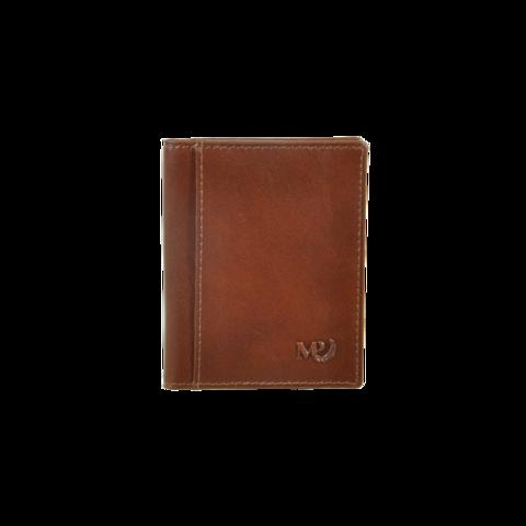 B120242R Cognac - Футляр для карт с RFID защитой MP