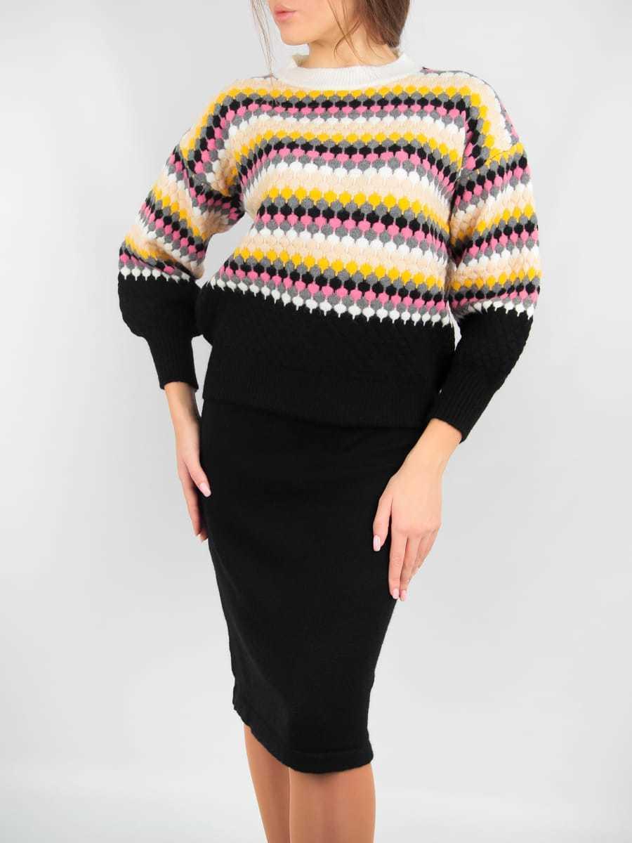 Комплект женский кофта с юбкой