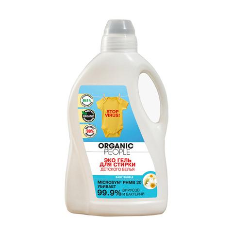 Organic PEOPLE, Эко гель для стирки детского белья, 1,5л