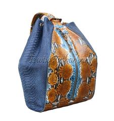 Рюкзак из кожи питона BG-44