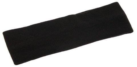 Лента ST TROPEZ для волос узкая черная