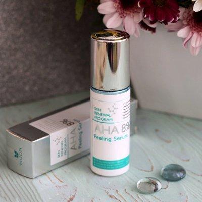 Сыворотка-пилинг для лица Mizon Skin renewal program AHA 8%