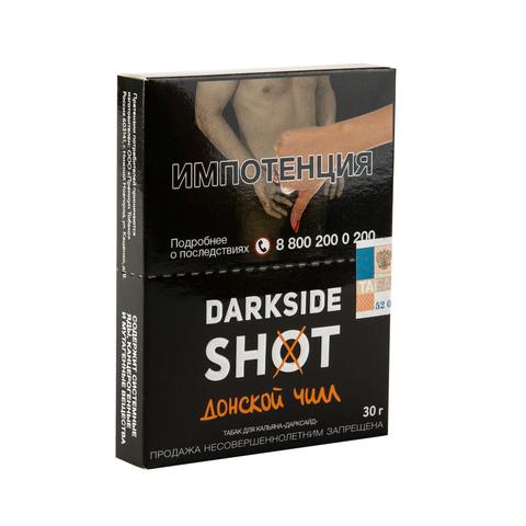 Табак DarkSide SHOT Донской чилл (Нуга Дыня Лимон) 30 г