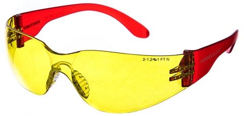 Защитные открытые очки РОСОМЗ О15 HAMMER ACTIVE CONTRAST super 2-1,2 PC 11536