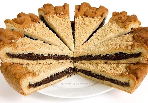 Пирог классический с черносливом