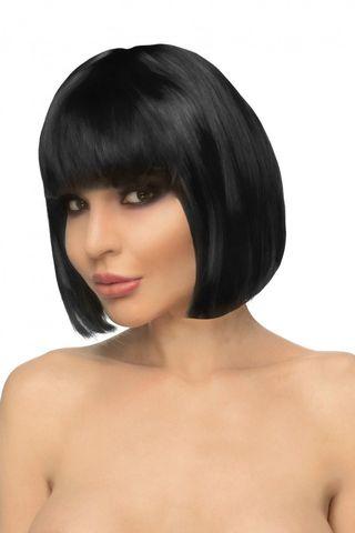 Черный парик