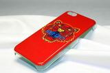 Чехол Kenzo Tiger для iphone 5С (Красный)
