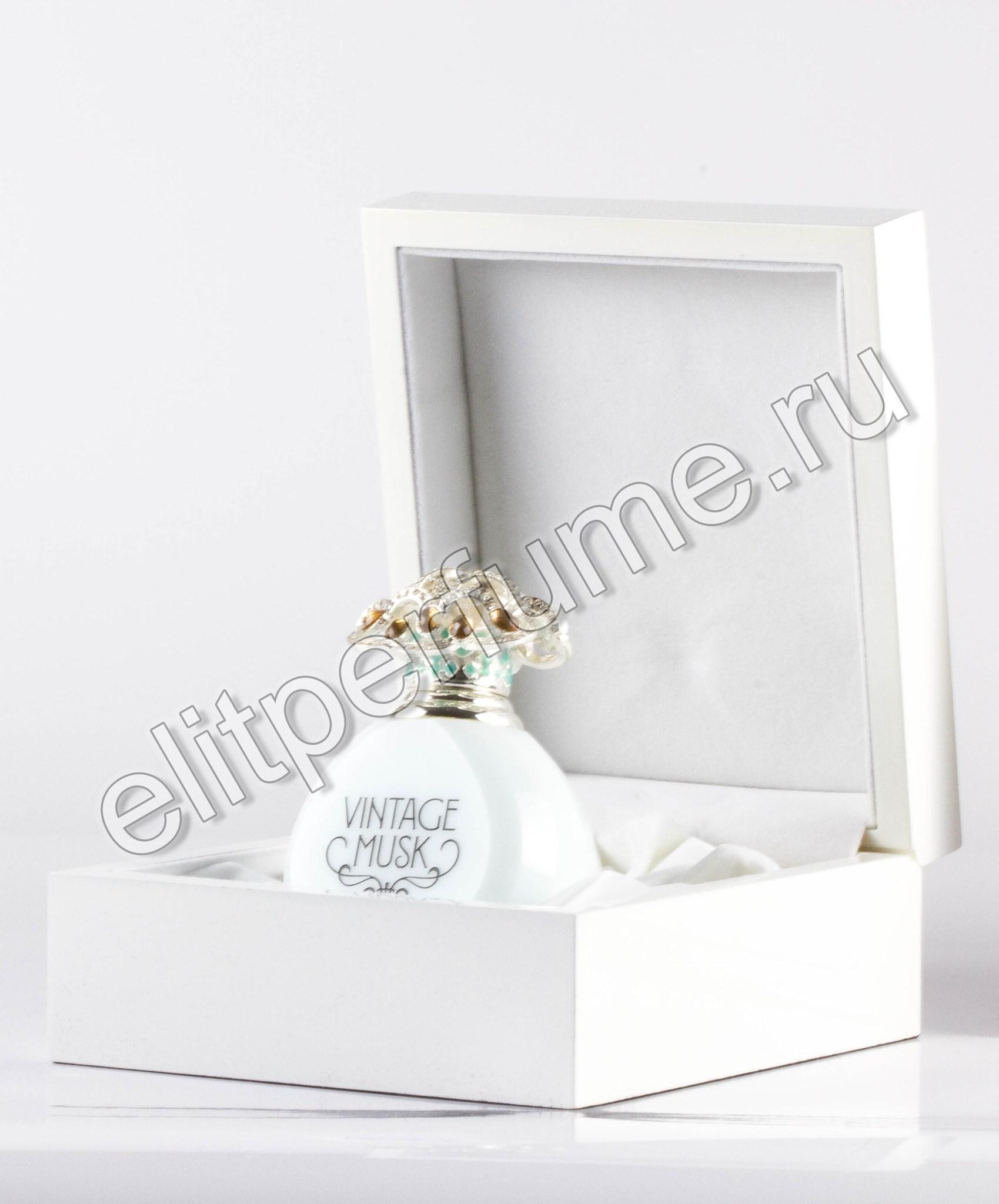 Vintage Musk  Винтаж Муск 12 мл арабские масляные духи от Арабеск Парфюм Arabesque Perfumes