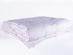 Одеяло пуховое кассетное теплое 150х200 Царственный ирис