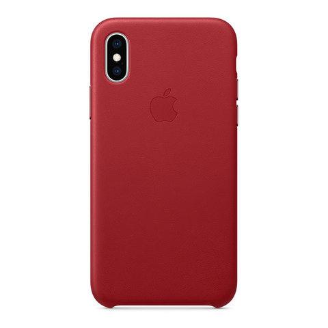 Чехол для iPhone X / XS - Кожаный (Leather Case)