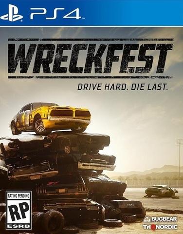 Wreckfest Стандартное издание (PS4, русская версия)
