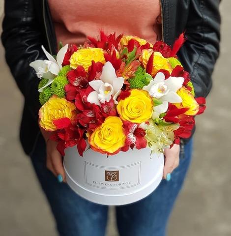 Коробка с микс цветами 11