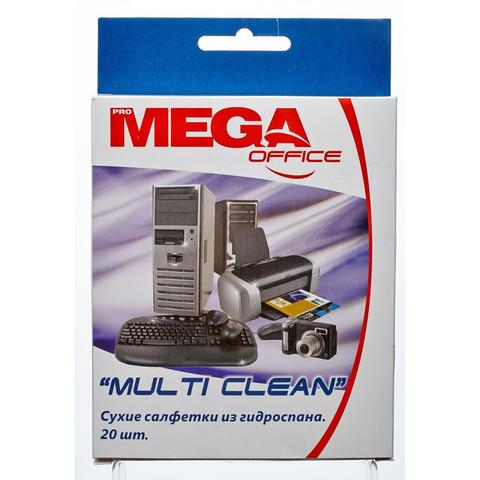 Салфетки Attache Selection Multi Clean в упаковке универсальные (20 штук)