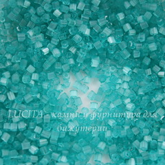05165 Бисер Preciosa рубка 10/0, светло-бирюзовый сатин