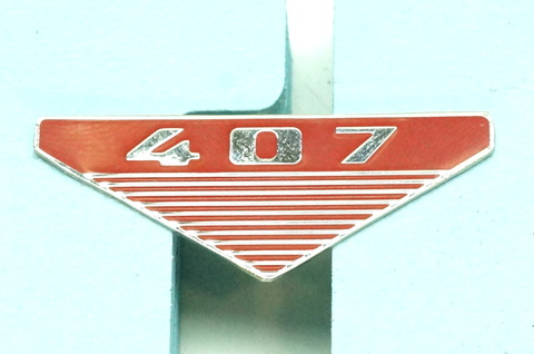 Значок эмблема на крыло Москвич 407