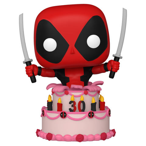 Фигурка Funko POP! Bobble Marvel Deadpool 30th Deadpool in Cake 54654