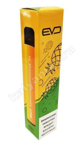 Одноразовый электронный кальян EVO POD, 2% nic - Ананасовый лимонад