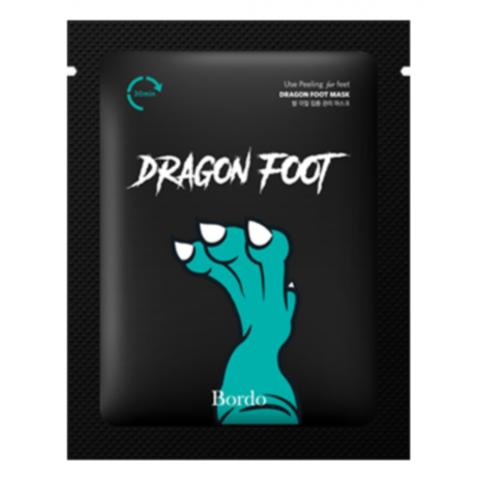 Bordo Набор пилинг-носочки - Dragon foot peeling mask, 5шт*20г