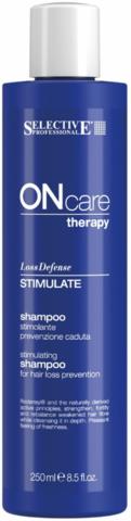 Стимулирующий шампунь, предотвращающий выпадение волос, Selective Oncare Hair Loss ,1000 мл