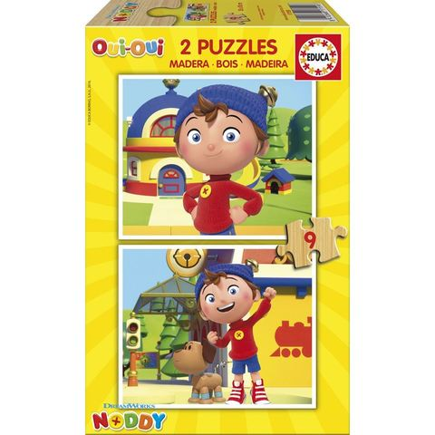 Puzzle -2x9 pcs Noddy2