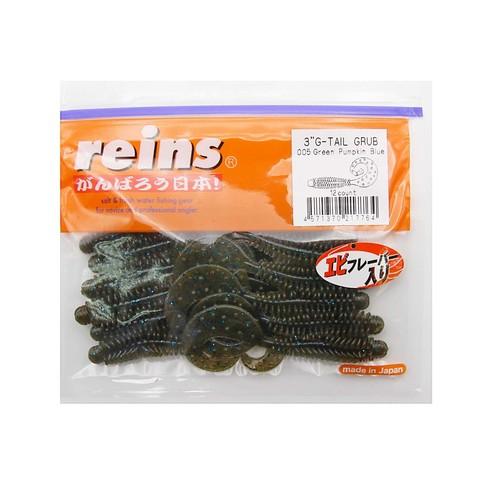 Приманка силиконовая Reins G-Tail Grub 3