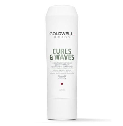 Кондиционер увлажняющий для вьющихся волос Goldwell Dualsenses Curl Waves Hydrating Conditioner, 200 мл