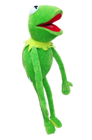 Маппет шоу игрушка плюшевая Лягушонок Кермит